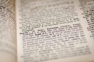 Focus i ordbogen for at understrege, at et indlæg fungerer bedst, når der er god struktur
