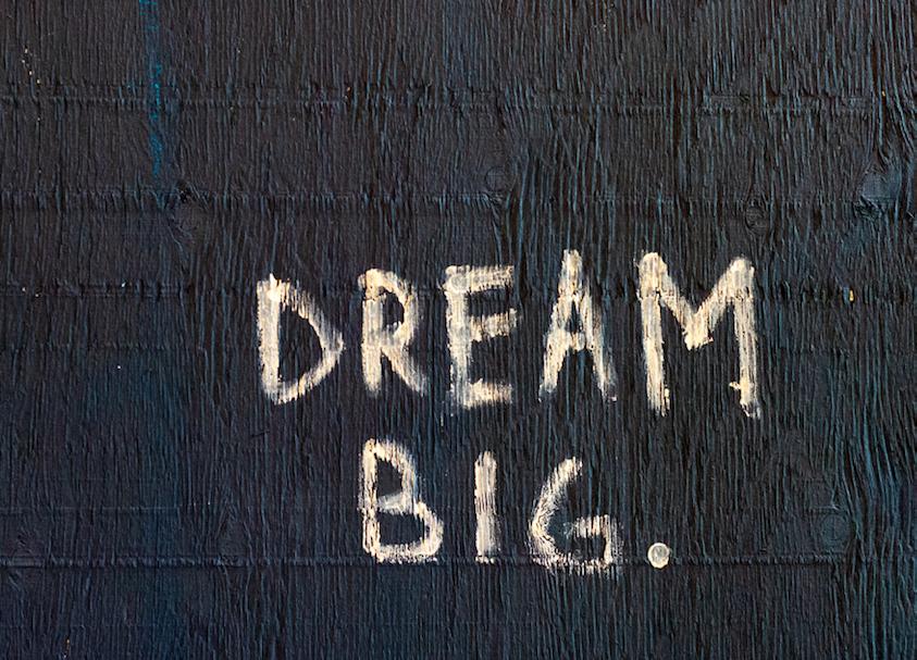 Skrive ansøgning og drømme stort